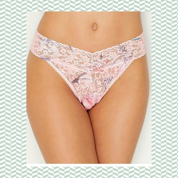 3372d8d3f309 Hanky Panky Intimates & Sleepwear | Original High Rise Lace Thong ...